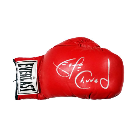 George Chuvalo // Autographed Boxing Glove