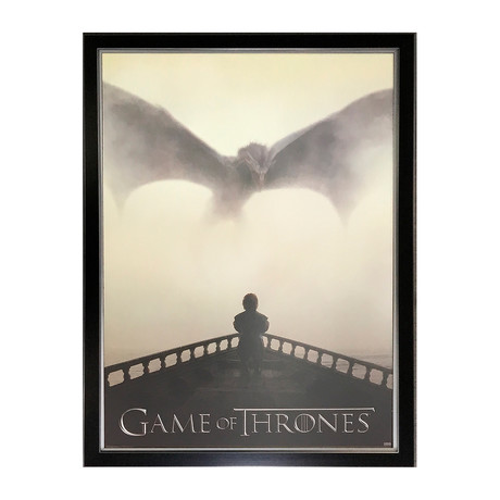 Game of Thrones // Framed Dragon Poster Print