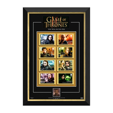 Game Of Thrones // Limited Edition Collectible Display // UK Royal Mail Postage Prints