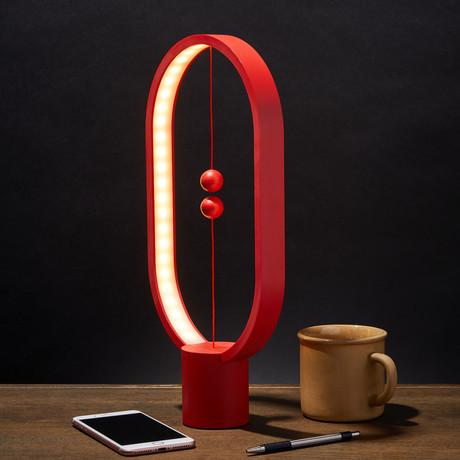 Heng Balance Lamp // Ellipse // Red