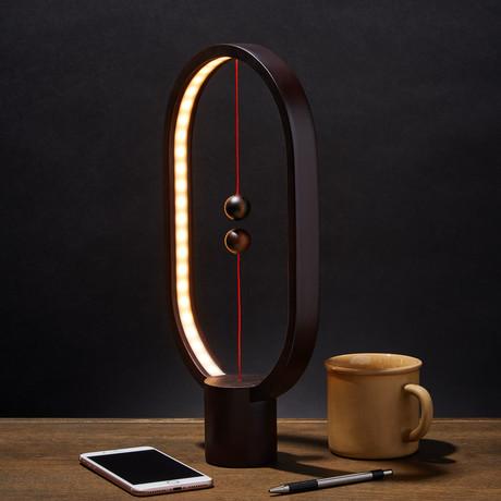Heng Balance Lamp // Ellipse // Dark Wood