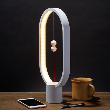 Heng Balance Lamp // Ellipse // White