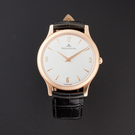 Jaeger-LeCoultre Master Ultra Thin Manual Wind // 14252504 // Store Display