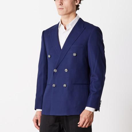 Slim Fit Sport Jacket // Blue (US: 36R)