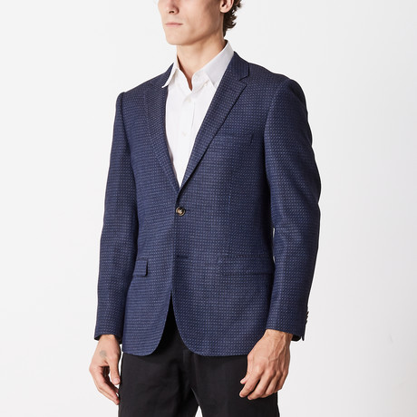 Rags To Riches Slim Fit Sport Jacket // Blue (US: 40R)