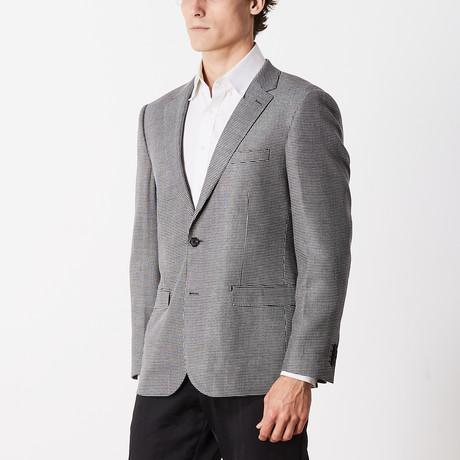 GQ Slim Fit Sport Jacket // Tan + Brown (US: 38R)