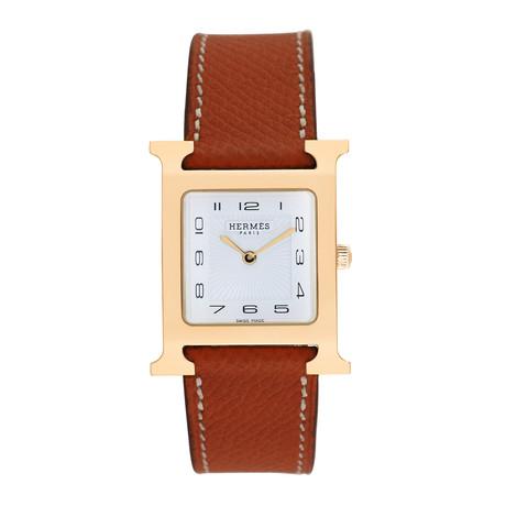 Hermès H Watch Quartz // HH1.501 // Pre-Owned