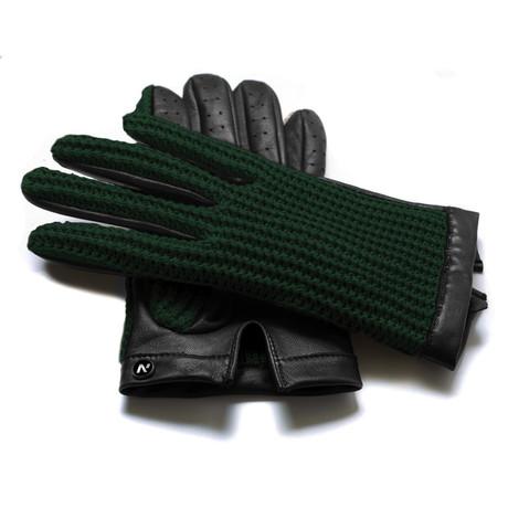 napoCROCHET // Black + Green (Small)