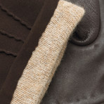 napoSUEDE // Brown (Small)
