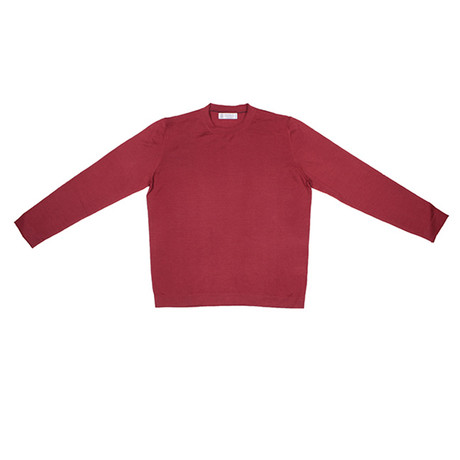 Cortland Cashmere Blend Sweater // Red (Euro: 46)