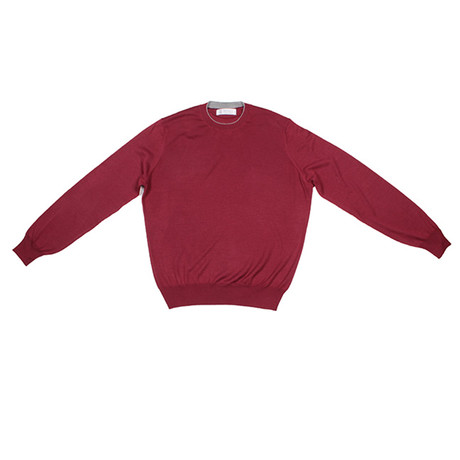 Diederik Cashmere Blend Sweater // Red (Euro: 46)