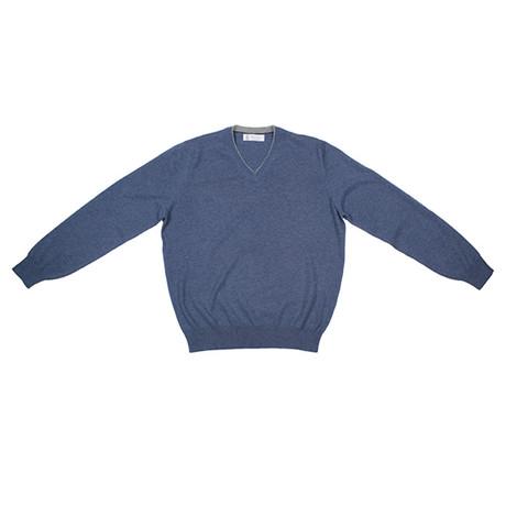 Bastiaan Sweater // Blue (Euro: 46)