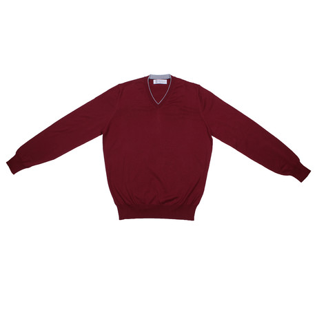 Franz Sweater // Burgundy (Euro: 46)