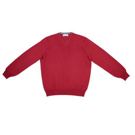 Kobus Cashmere Sweater // Red (Euro: 46)