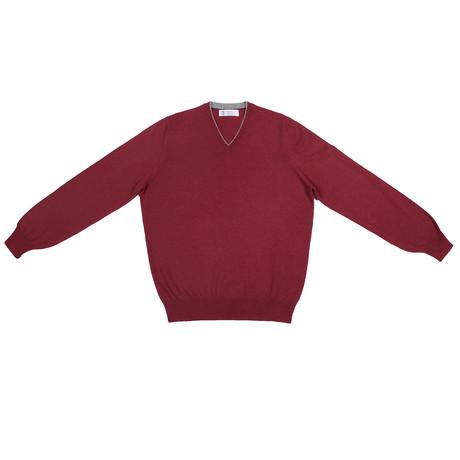 Gerhard Cashmere Sweater // Red (Euro: 46)