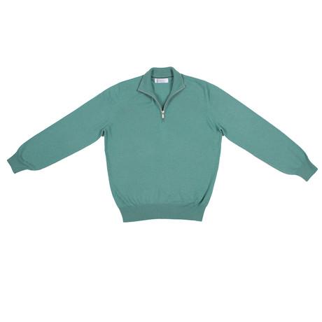 Aldert Cashmere Sweater // Teal (Euro: 46)