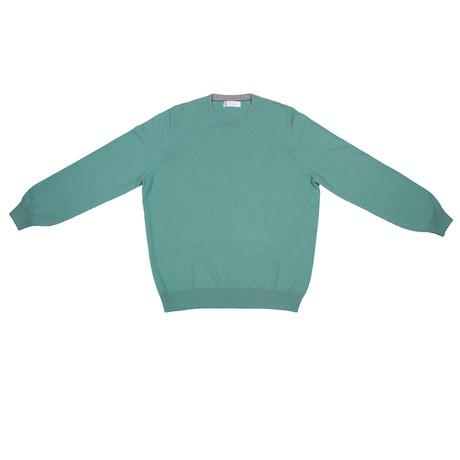 Kade Cashmere Sweater // Teal (Euro: 46)