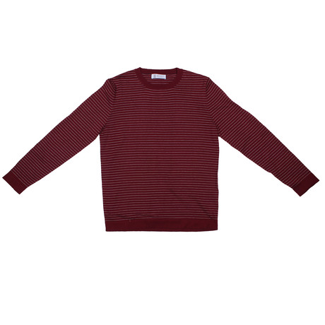 Bartolo Sweater // Burgundy (Euro: 46)