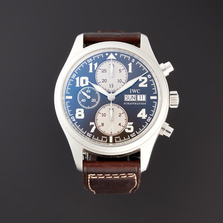 IWC Pilot St. Exupery Chronograph Automatic // IW371709 // Pre-Owned