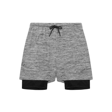 2 Dogs Shorts // Gray (S)