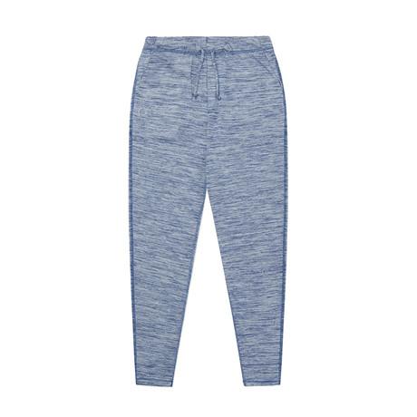 OHMME Discovery Homme Chinos Yoga Pantalon-Bleu