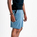 Eco Warrior II Shorts // Blue (L)
