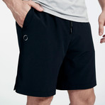 Eco Warrior II Shorts // Black (2XL)