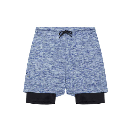 2 Dogs Shorts // Blue (S)
