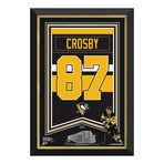 Sidney Crosby // Pittsburgh Penguins Arena Banner // Limited Edition Display