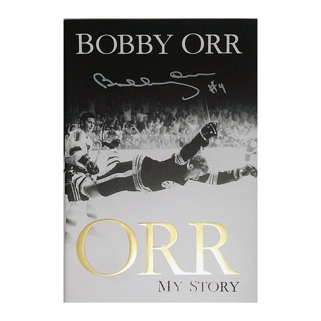 """Bobby Orr // Autographed """"My Story"""" Book // Boston Bruins"""