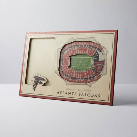 Atlanta Falcons 3D Picture Frame