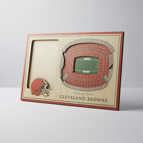 Cleveland Browns 3D Picture Frame