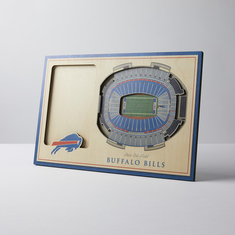 Buffalo Bills 3D Picture Frame