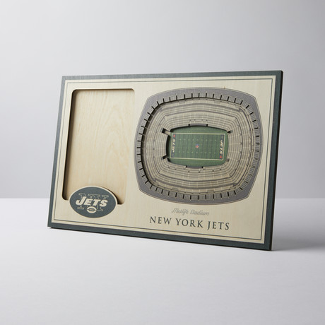 New York Jets 3D Picture Frame
