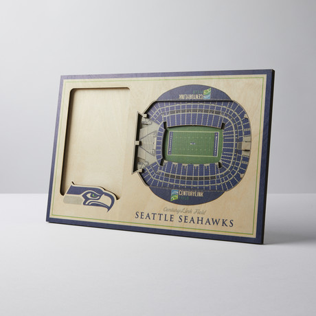 Seattle Seahawks 3D Picture Frame