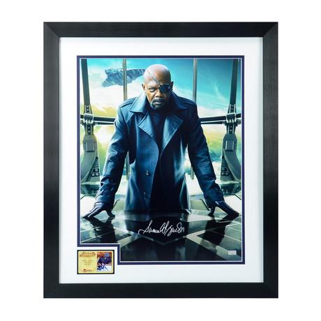 Samuel L. Jackson // Nick Fury // Framed