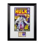 Mark Ruffalo // Autographed The Incredible Hulk #1 // Framed