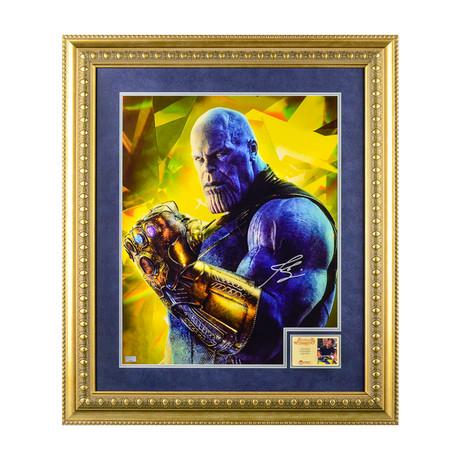 Josh Brolin // Thanos // Framed