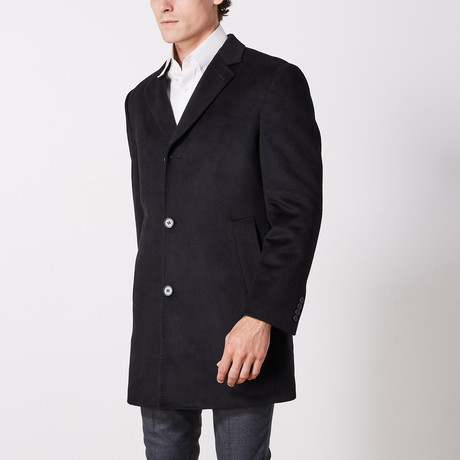 Overcoat // Black (US: 36R)