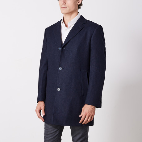 Coat // Navy (US: 36R)