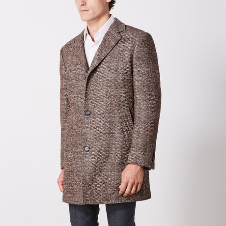 Overcoat // Brown (US: 36R)