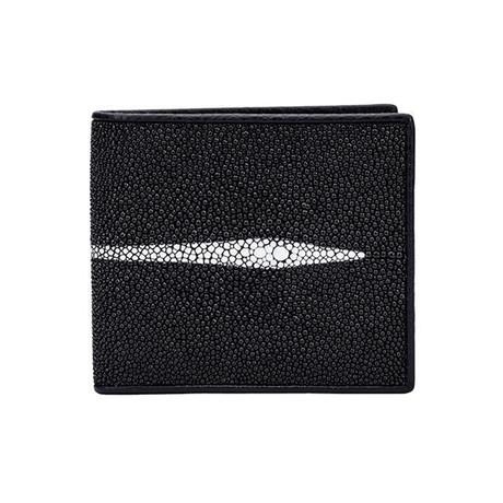 Exotic Stingray Wallet // Black