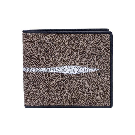 Exotic Stingray Wallet // Taupe