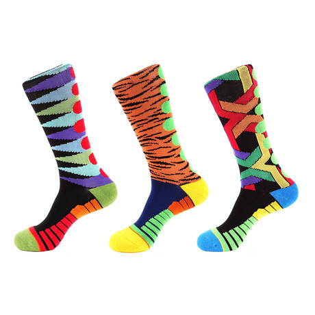 Tiger Athletic // Multi Color // Pack of 3 (Multicolor)