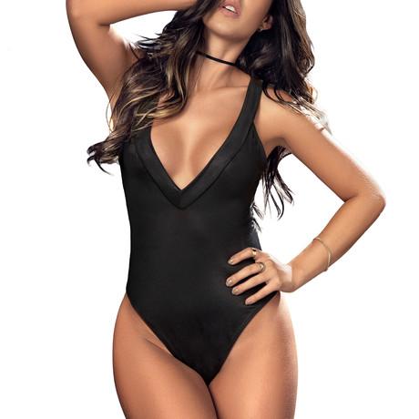Besitos Bodysuit // Black (S)