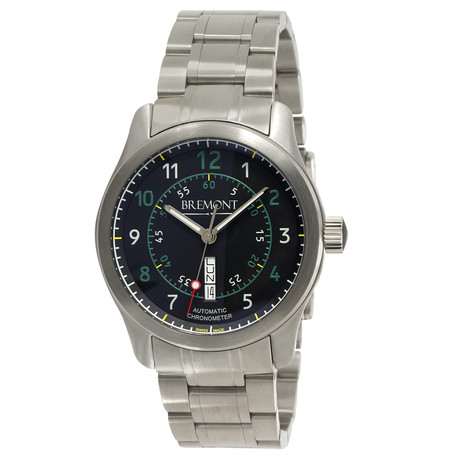 Bremont Pilot's BC-S2 Automatic // BC-S2/BG/BR // Store Display