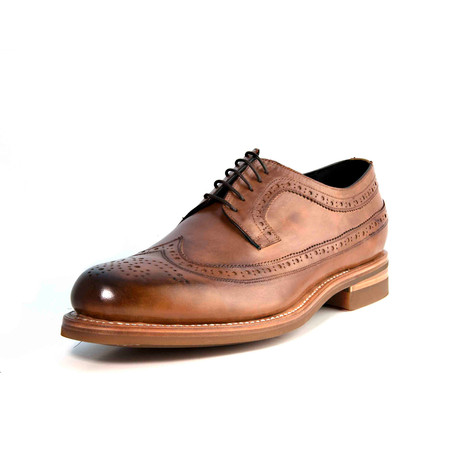 Matt Wingtip Derby // Light Brown (US: 7)