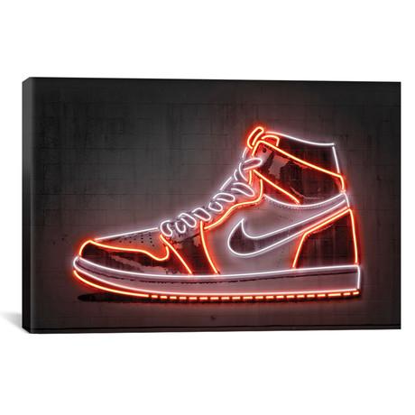 """Sneaker // Octavian Mielu (18""""W x 12""""H x 0.75""""D)"""