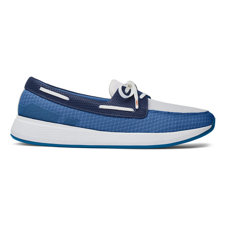 Breeze Wave Boat Seaport // Blue Navy (US: 7)