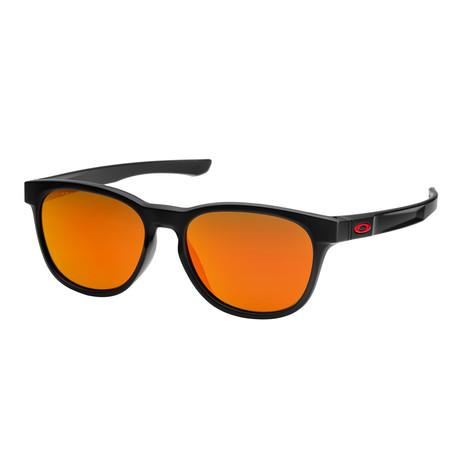 Men's Stringer Sunglasses // Matte Black + Ruby